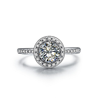 Gyűrűk Divat / Régies (Vintage) Esküvő Ékszerek Női Vallomás gyűrűk 1db,5 / 6 / 7 / 8 / 9 / 9½ / 4