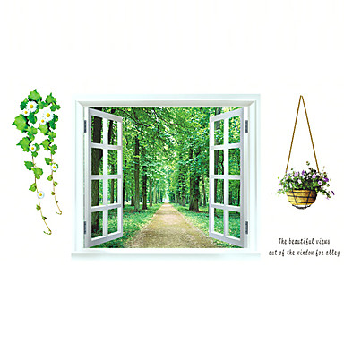 Dekorative Mur Klistermærker - 3D Mur Klistremerker Landskap / Still Life / Mote Stue / Soverom / Baderom / Kan fjernes