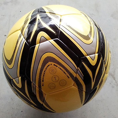 Football(Jaune,PVC)Indéformable Durable