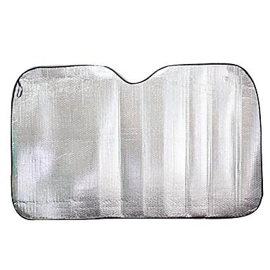 protetor de pára-sóis auto frente do pára-brisa sol 150 * 90 alumínio