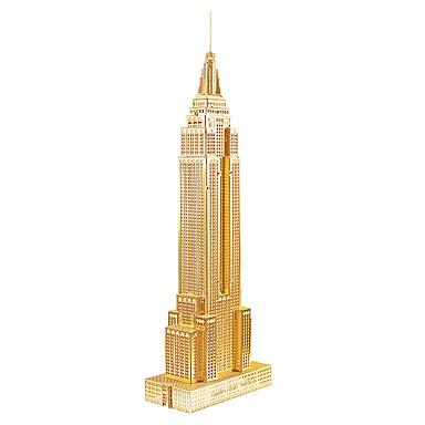 voordelige 3D-puzzels-3D-puzzels / Metalen puzzels / Modelbouwsets Beroemd gebouw / Empire State Building DHZ Metaal Geschenk