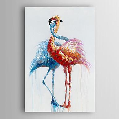 Handgemalte Tiere Vertikal, Modern Segeltuch Hang-Ölgemälde Haus Dekoration Ein Panel