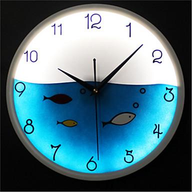 Moderne/Contemporain Autres Horloge murale,Autres Acrylique Horloge