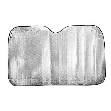 150 * 90 Silber doppelseitige Aluminiumfolie Anti-UV Sonnen Isolierung Sonnenschutz