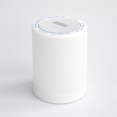 Utendørs Innendørs Bluetooth Bærbar Bluetooth 2.1 3,5 mm AUX USB Høyttaler til bokhylle