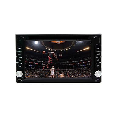 6.2 дюйма 800 x 480 DVD-плеер для авто для Универсальный Встроенный Bluetooth RDS ПК для автомобиля - DVD-R/RW MPEG4 CD+R/RW MP3 JPEG
