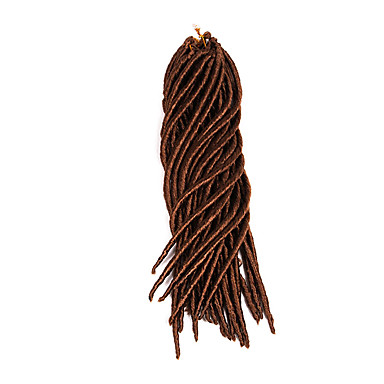 dreadlocks La Havane Crochet Faux Dreads Crochet faux dreads Dreadlock Extensions Kanekalon # 30 Bleu Bordeaux Punaise blondExtensions de