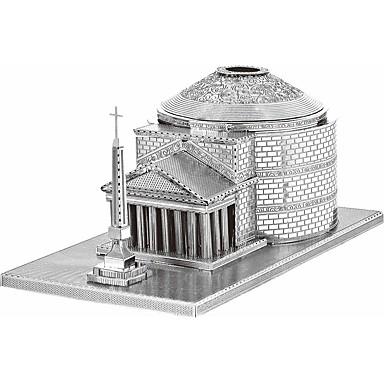 voordelige 3D-puzzels-3D-puzzels Legpuzzel Metalen puzzels Modelbouwsets Speeltjes Beroemd gebouw Paard 3D DHZ Roestvast staal Metaallegering Metaal Kinderen