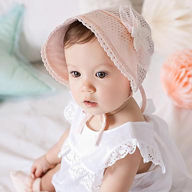 povoljno Djeca Kape i šeširi-Beba Dječaci / Djevojčice Čipka Kape i šeširi Obala / Pink One-Size / Bandane