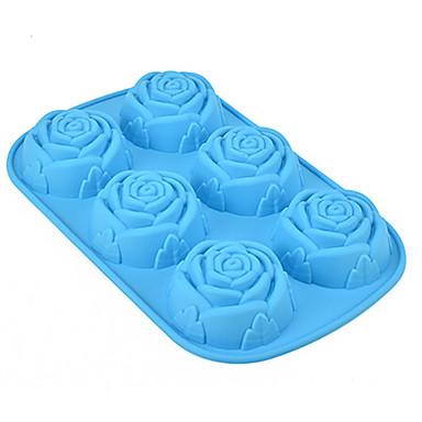 Backwerkzeuge Silikon Umweltfreundlich / 3D / Valentinstag Kuchen / Plätzchen / Obstkuchen Backform