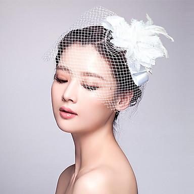 Tüll Stoff Fascinators Kopfschmuck elegant klassisch femininen Stil