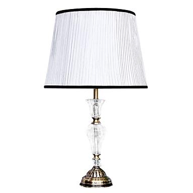 40 Traditionnel/Classique Lampe de table , Fonctionnalité pour Cristal / Tons multiples , avec Galvanisé Utilisation Interrupteur ON/OFF