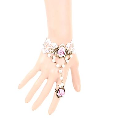 Női Gyűrű karkötők Csipke Ékszerek Kompatibilitás Parti Napi Hétköznapi