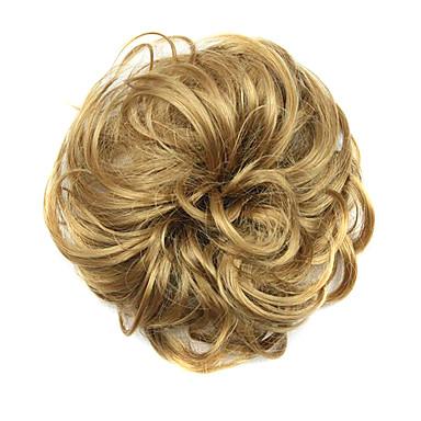 שיניון (פקעת) פאות סינתטיות מתולתל קלאסי תספורת שכבות איכות גבוהה צְפִיפוּת בגדי ריקוד נשים פאה למשחקי תפקידים קצר שיער סינטטי