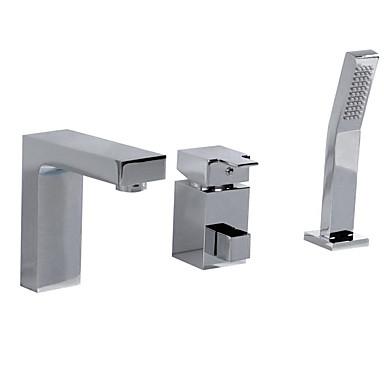 tre huller ene hånd badekar vandhane