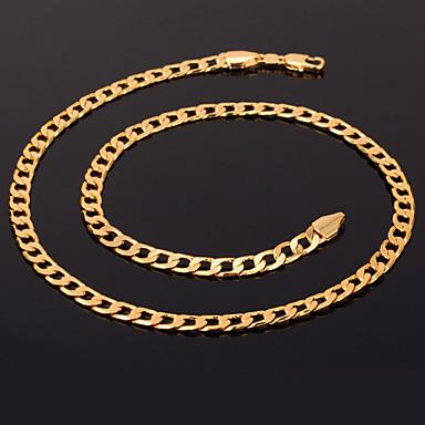 Damen Figaro Kette Klobig Ketten / Statement Ketten - vergoldet Modisch Silber, Golden, Rotgold Modische Halsketten Schmuck Für Weihnachts Geschenke, Hochzeit, Party