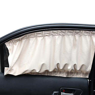 Gewirke Universalautofenstervorhang Sonnenschutz UV-Schutz passen die meisten Autoseitenscheibe (71 * 47cm)