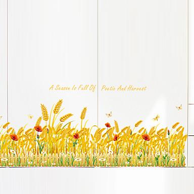 Botanisk Ord & Citater Still Life Mote Blomster fritid Veggklistremerker Fly vægklistermærker Dekorative Mur Klistermærker MaterialeKan