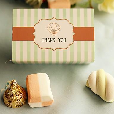 Geschenkboxen(Grün,Kartonpapier) -Nicht personalisiert-Brautparty / Babyparty / Quinceañera & Der 16te Geburtstag / Geburtstag / Hochzeit