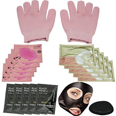 1 Máscara Secos / Molhado Liquido Anti-Acne / Anti-Rugas / Limpeza Rosto Preta China PILATEN