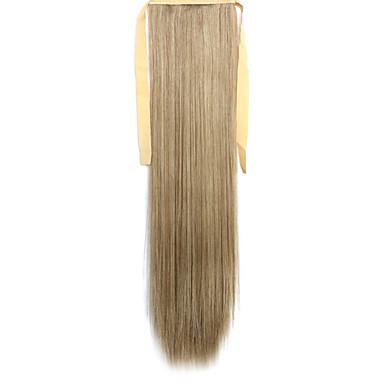 קוקיות פאת שיער ארוכות ישרות ירוק מיזוג 27A / 613