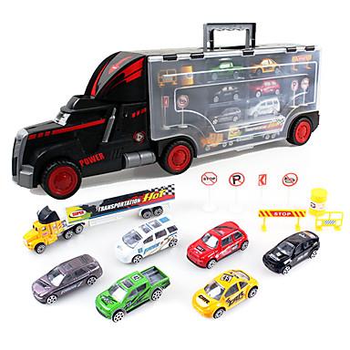 Dibang -1813 carro de brinquedo infantil carro portátil avançado com carro modelo de carro liga de brinquedo 7 (2pcs)