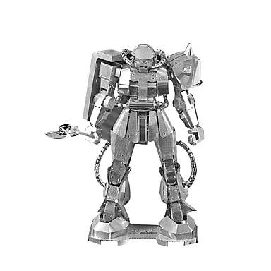 ZAKU Roboter 3D - Puzzle Holzpuzzle Metallpuzzle Modellbausätze Maschine Roboter 3D Metalllegierung Metal 8 bis 13 Jahre
