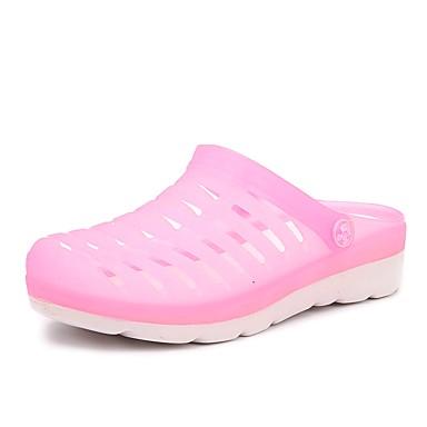 Papucsok-Lapos-Női cipő-Papucsok-Alkalmi-PU-Kék / Zöld / Rózsaszín