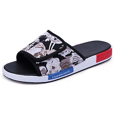 Chaussures Hommes-Décontracté-# 2-Tissu-Sandales