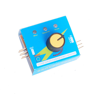 Multiservotester 3ch ecs Konsistenz Geschwindigkeit Controler Stromkanäle CCPM Meter