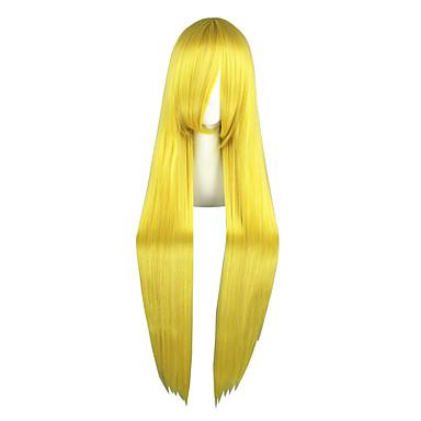 Pelucas de Cosplay Sailor Moon Sailor Moon Animé Pelucas de Cosplay 40 pulgada Fibra resistente al calor Hombre Mujer Pelucas de Halloween