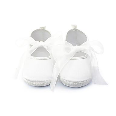 Mädchen Baby Flache Schuhe Lauflern Baumwolle Frühling Herbst Normal