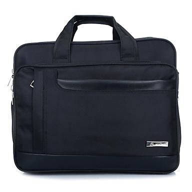16 polegadas maior bolsa de ombro extensionable para laptop / homem / preto negócios