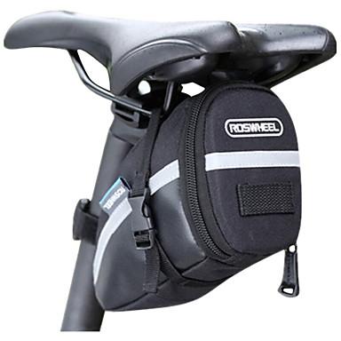 FahrradtascheFahrrad-Sattel-Beutel Reflexstreifen / tragbar / Kompakt Tasche für das Rad PU Leder / PVC / 600D - Polyester Fahrradtasche
