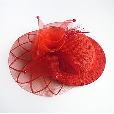 tulle בד fascinators headpiece אלגנטי בסגנון נשי קלאסי