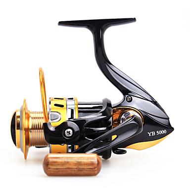 Moulinet appât casting 5.5:1 12 Roulements à billes Echangeable Pêche en mer Pêche d'appât Pêche d'eau douce-lancé moulinet