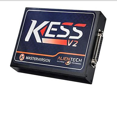 シミュレータとv2.23 KESS v2のOBD2マネージャのチューニングキットには、何度も何度も番号を書き込むことができます