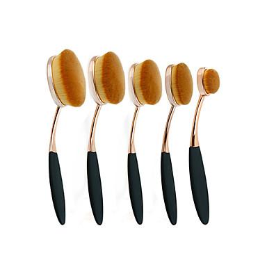 4pcs Pinceles de maquillaje Profesional Sistemas de cepillo / Cepillo para Colorete / Pincel para Sombra de Ojos Pincel de Nylon Portátil / Viaje / Ecológica Plástico