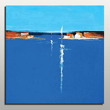 peinte à la main peinture à l'huile de paysage abstrait moderne sur l'art mur de toile avec cadre étiré prêt à accrocher