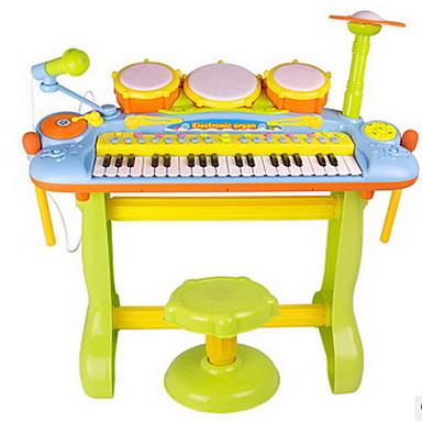 ou rui Schlagzeugset / Elektronisches Keyboard / Knete Piano / Schlagzeugset Spaß / Mit Mikrofon Kunststoff Kinder Jungen Geschenk