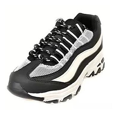 kvinners sko pu vår / sommer / høst runde toe mote joggesko utendørs / atle