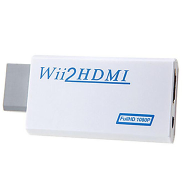 Windows 7 0,06 M support hd 1080p wii til HDMI konverter