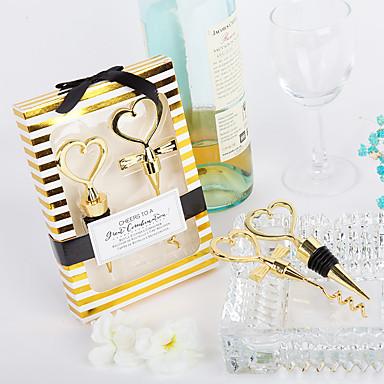 billige Flaskegaver-Ikke-personalisert Materiale / Chrome Flaskestoppere / Flaskeåpnere / Andre Strand Tema / Klassisk Tema / Ferie Flaskegave