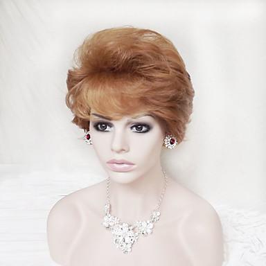 Damen Synthetische Perücken Kappenlos Natürlich gewellt Kostüm-Perücke Kostüm Perücken
