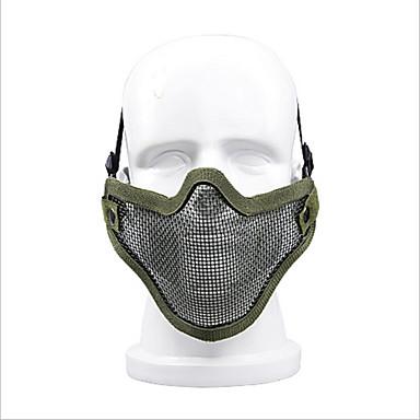 zl-v1 mit vielen Outdoor-Ausrüstung Selbstverteidigung Ausrüstung halbe Gesicht Drahtschutz im Freien Feld Schutzmaske
