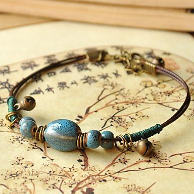 Damen Strang-Armbänder - Modisch Kreisförmig Kreisform Grün Armbänder Für Alltag Normal