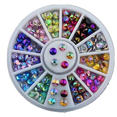 1 pcs Kit de uñas arte de uñas Manicura pedicura Diario Glitters / Moda