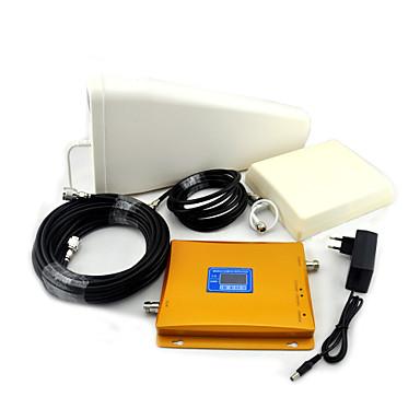 cep telefonu çift bant sinyal güçlendirici, sinyal güçlendirici + periyodik anten + düzlemsel anten giriş W-CDMA gsm / 3g