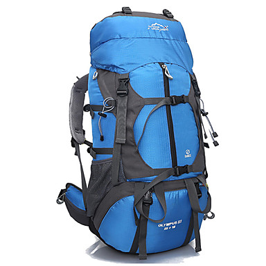 65 L Rucksack Travel Organizer Tourenrucksäcke/Rucksack Camping & Wandern Wasserdicht Rasche Trocknung tragbar Atmungsaktiv Nylon Terylen