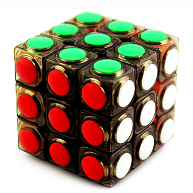 Zauberwürfel 3*3*3 Glatte Geschwindigkeits-Würfel Magische Würfel Puzzle-Würfel Profi Level Geschwindigkeit ABS Silvester Kindertag